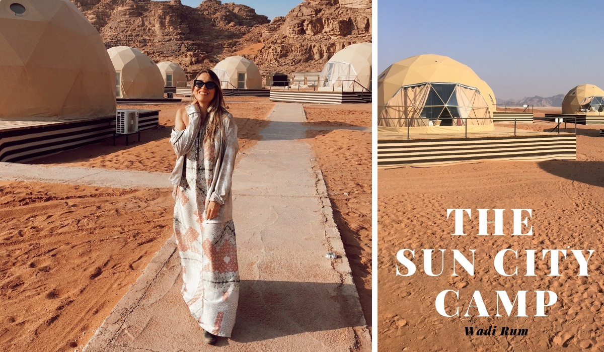 TRAVELING TO JORDAN: SPENDING THE NIGHT AT SUN CITY BEDUIN CAMP | Jordan