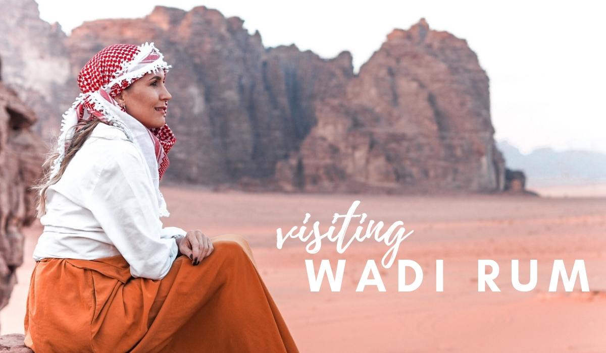 TRAVELING TO JORDAN: SUNSET IN WADI RUM DESERT | Jordan
